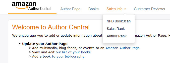how to find sales rank on amazon
